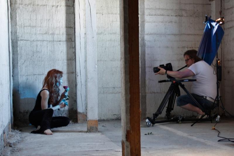 Armovaurio Jaettu -musiikkivideokuvaukset